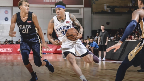 Pistons sign former New Mexico State guard Zach Lofton