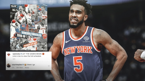 Courtney Lee left out of New York promo, he reacts
