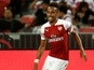 Team News: Aubameyang leads Arsenal line against City