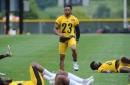 Watch Antonio Brown abuse Joe Haden at training camp