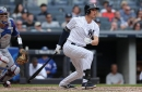 After collecting two doubles on Saturday, Greg Bird on bench for Yankees' series finale