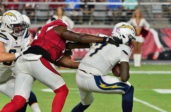 Chargers sloppy in preseason opener, fall to Josh Rosen-led Cardinals