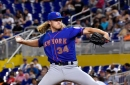 Noah Syndergaard records win for NY Mets, but Marlins steal three bases