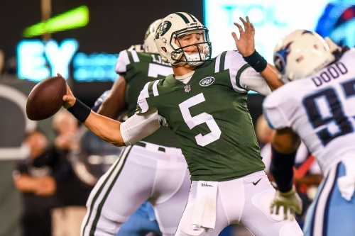 Eagles sign QB Christian Hackenberg, likely for preseason depth