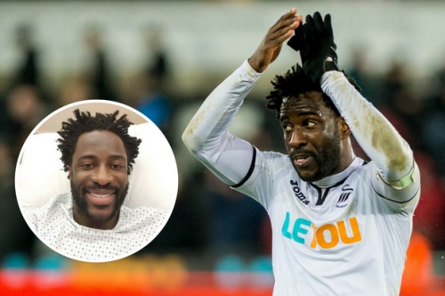 The situation with Swansea City's Wilfried Bony, his injury progress and the rumours surrounding his future