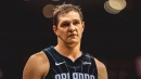 Magic's Timofey Mozgov surprised by trade from Hornets