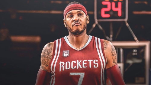 Rockets news: Carmelo Anthony to sign $2.4 million deal with Houston today