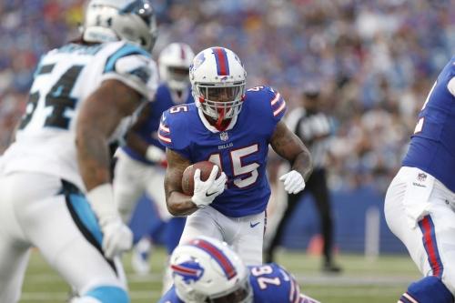 Bills snap count notes: third string running back battle heats up
