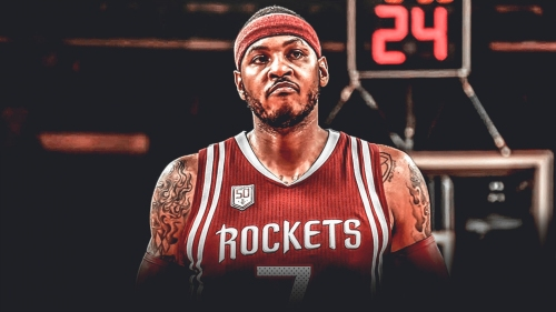 Report: Rockets expected to bring Carmelo Anthony off the bench