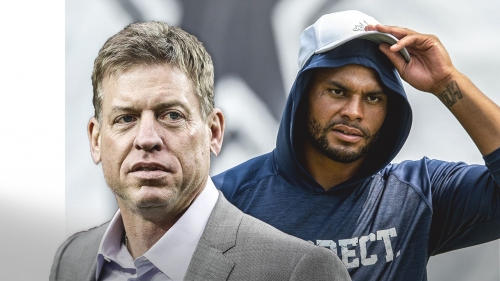 Troy Aikman shows his support for Dak Prescott's right to express his opinion