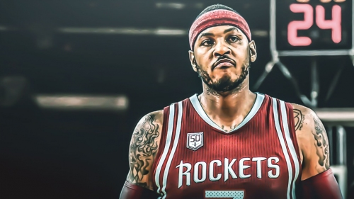 Report: Rockets' Carmelo Anthony could still compete for starting spot