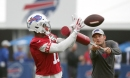 Zay Jones was cleared for contact, and the Bills' WR was in a feisty mood