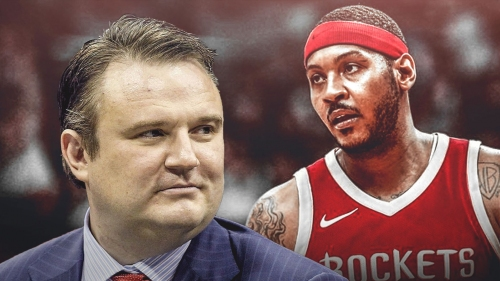 Rockets GM Daryl Morey officially welcomes Carmelo Anthony to Houston