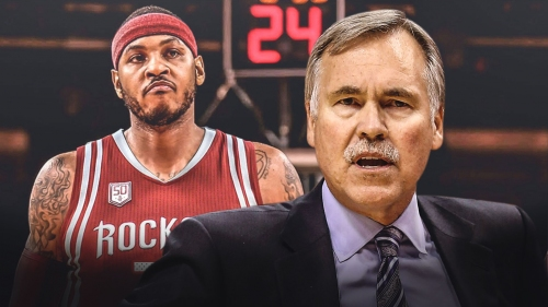 Mike D'Antoni praises Carmelo Anthony, says Rockets will be 'more formidable'