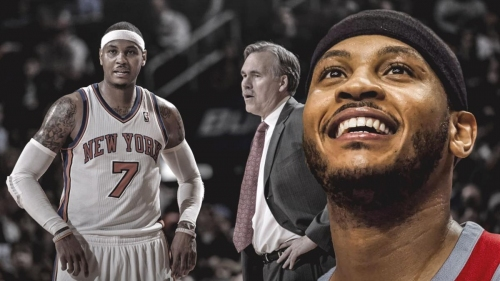 Mike D'Antoni describes past stint with Carmelo Anthony a 'styles clash, never a blow-up'