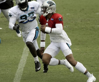 Panthers DE Mario Addison continues to 'burst out of boxes'