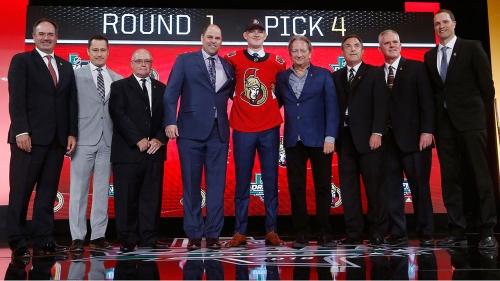 Senators sign Brady Tkachuk to entry-level deal