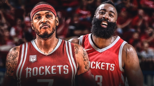 Rockets' James Harden ready to 'get it' with Carmelo Anthony on board