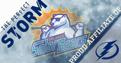 Lightning enters three-year deal with ECHL's Orlando Solar Bears