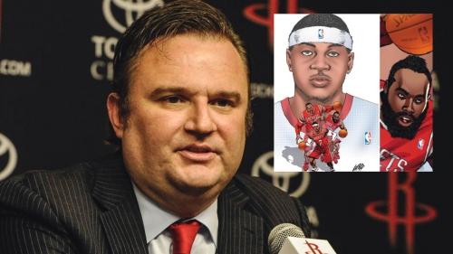 Rockets news: Daryl Morey had Deadpool creator draw art of Carmelo Anthony with Houston in 2014