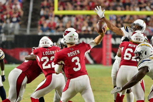 Arizona Cardinals second depth chart has no noticeable change
