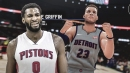 Andre Drummond reacts to Blake Griffin's surprisingly low NBA 2K19 rating