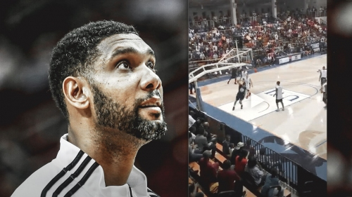 Spurs news: 42-year old Tim Duncan's dunk at All Virgin Island Hoop Classic