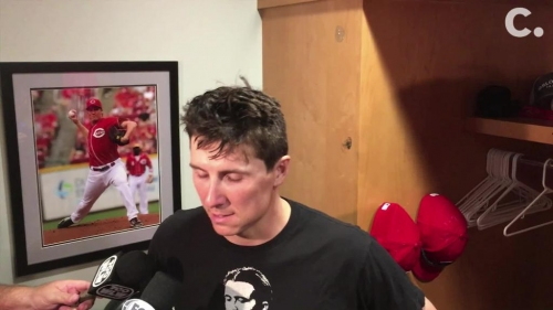 Cincinnati Reds pitcher Homer Bailey talks about his start, loss to Cleveland Indians