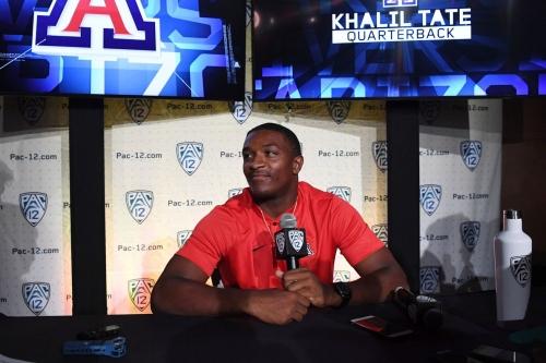 'More professional' Arizona QB Khalil Tate embracing spotlight, leadership role in junior season