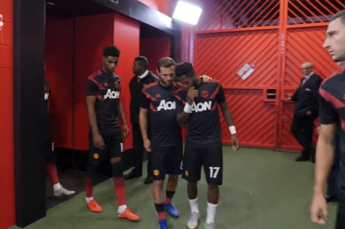 Man Utd fans will love what players did to Fred in tunnel before Leicester fixture