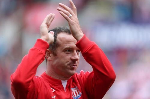 Stoke City star drawn into Twitter row with fan over future