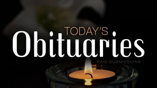 In memoriam: Funeral notices, August 14, 2018
