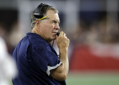 Bill Belichick says he and New England Patriots QB Tom Brady have a