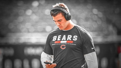 Bears' Mitchell Trubisky has been 'uneven' during training camp
