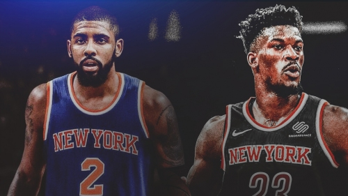 Chatter surrounding Kyrie Irving, Jimmy Butler teaming up in New York is 'substantial'