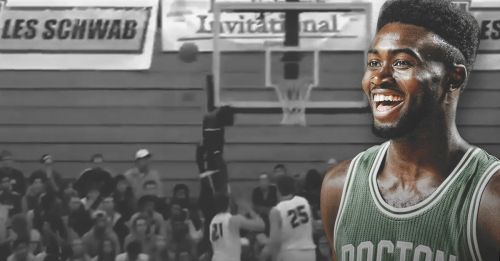Video: Jaylen Brown posts video of his high school blocks
