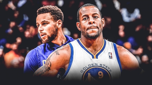 Andre Iguodala hoping to keep in Stephen Curry's good side when his contract is up