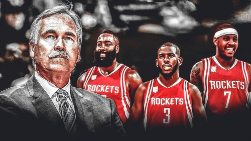 Mike D'Antoni thinks Carmelo Anthony will fit 'if everybody is committed'