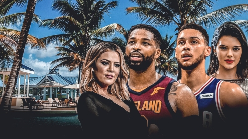 Ben Simmons, Kendall Jenner went on vacation with Khloe Kardashian, Tristan Thompson