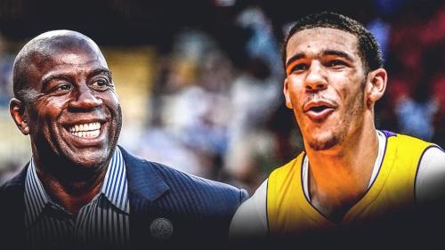 Lakers' Lonzo Ball roasts Magic Johnson on 59th birthday