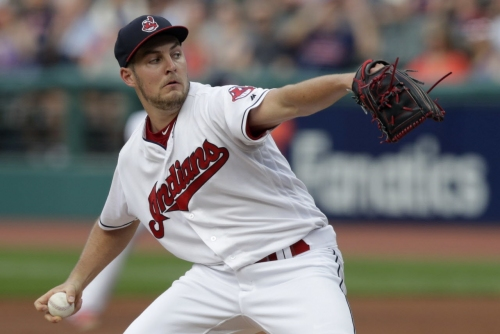 Cleveland Indians' Trevor Bauer returns to Cleveland to get right ankle examined