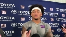 Giants tight end Evan Engram says offense was sharp in practice against the Lions