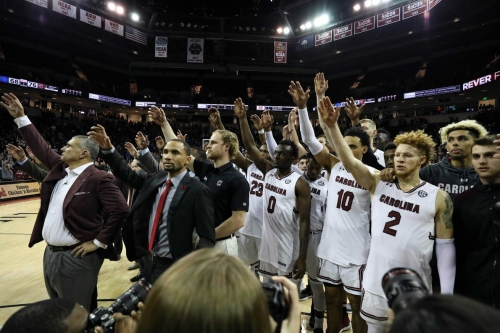 South Carolina men release non-conference schedule