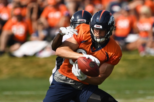Broncos training camp rewind, practice 13: Pads stay off before Chicago Bears arrive
