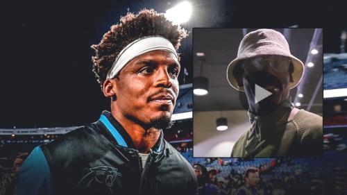 Panthers video: Cam Newton throws shade at Kelvin Benjamin