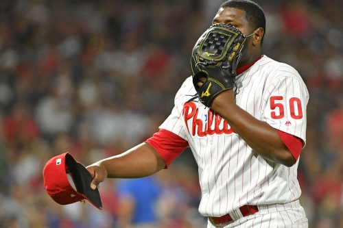 Phillies add Hector Neris, demote J.P. Crawford, not Scott Kingery
