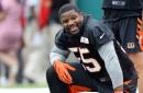 Vontaze Burfict, Tyler Eifert among Bengals not practicing Tuesday