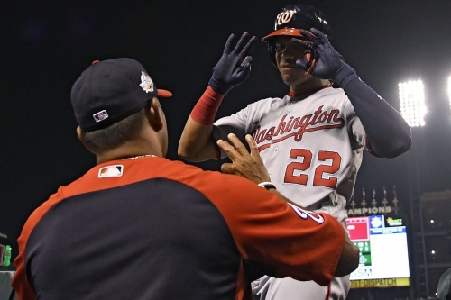 Washington Nationals' lineup for second of four with the St. Louis Cardinals...