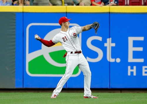 Michael Lorenzen says it was 'definitely special' to play in outfield for Cincinnati Reds