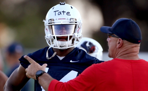 Arizona QB Khalil Tate views SI cover as an honor – and a gift for his parents